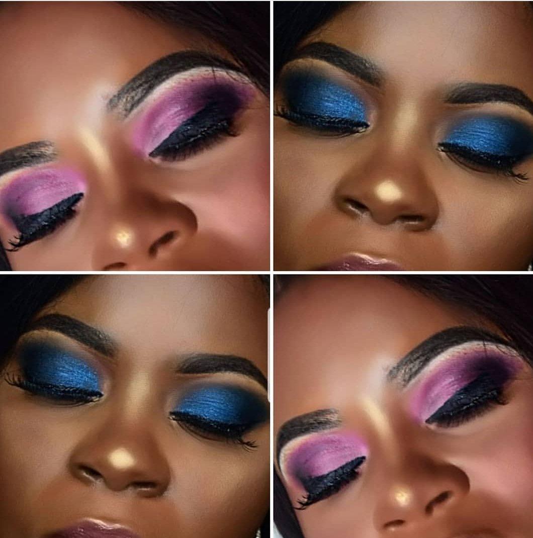 #makeupforblackwoman  #maquillagepeaunoire  #maquillageyeux   #muadefrance  #makeupslave  #underratedmuas_   #fullcolor  #Younique  #avantgardemakeup   #underratedmuas  #colorfulmakeup  #pictorial  #cutecrease