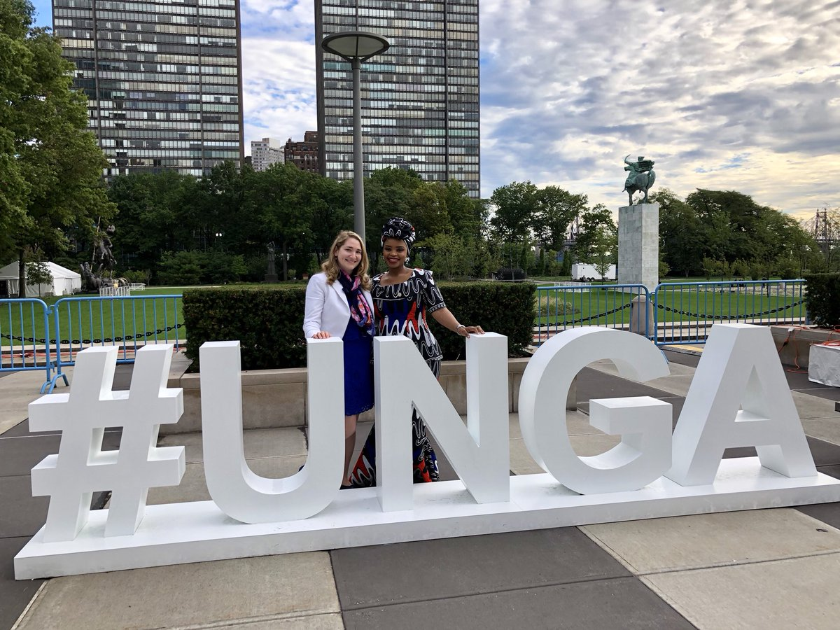 Inspired by @ZolekaMandela and her personal commitment to addressing #NCDs. #HLM3 #UNGA18 #UNGA #Everylife #SDGs #HealthForAll