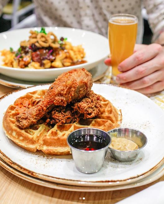 'There are none greater. I'm the freshest on the scene.' -Ludacris #chicken #waffles #ludacris