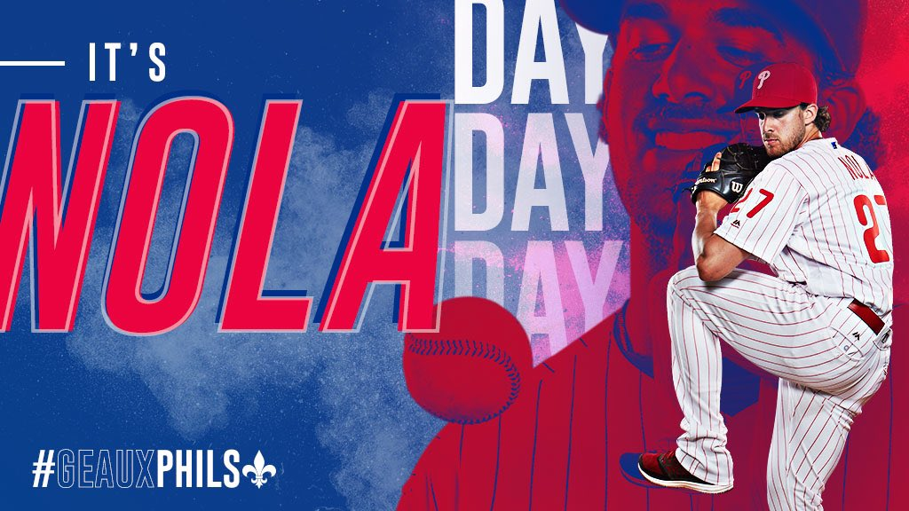 For the final time in 2018 ...  #GeauxPhils | #BeBold https://t.co/9w54sEZuid
