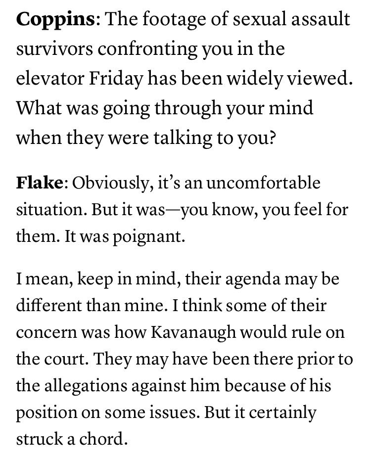 Kenneth P Vogel On Twitter Jeffflake On Being Confronted By