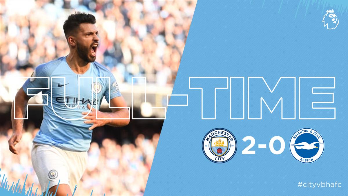 Chấm điểm kết quả Manchester City 2-0 Brighton