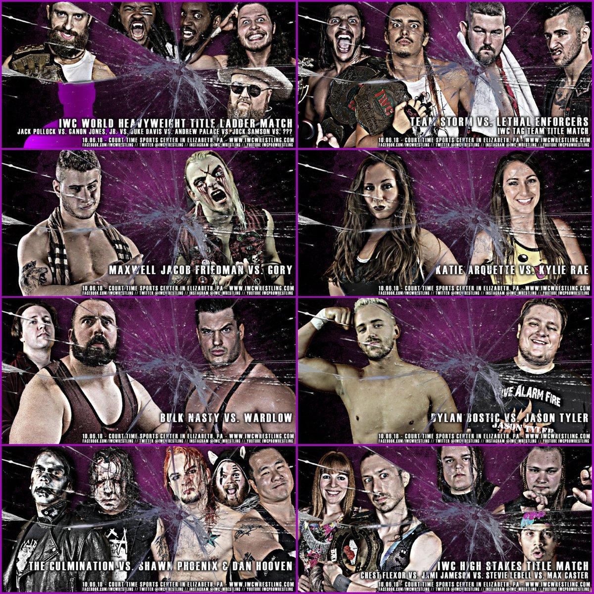 IWC Wrestling on Twitter: