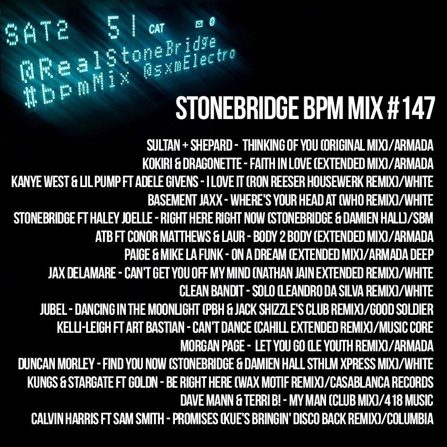 """stonebridge on twitter: """"sirius xm bpm running insomniac edc 2018"""