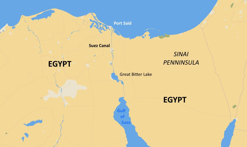 15 ships were stranded in the Suez Canal for 8 years in the 60s and 70s. The crews of the ships seem to have made the most of it and ran football and sailing competitions to pass the time. Source: amusingplanet.com/2018/09/how-wa…