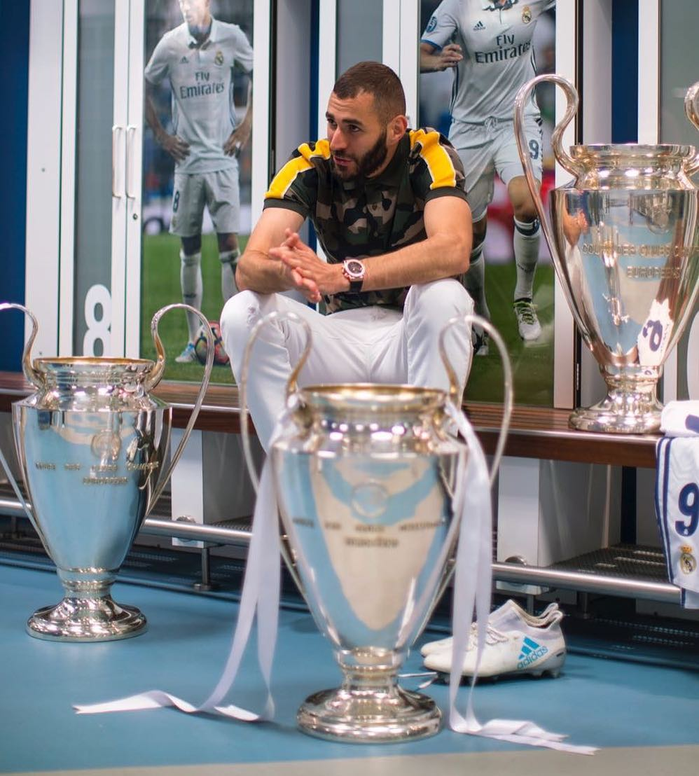 Image result for benzema 3 champions leagues
