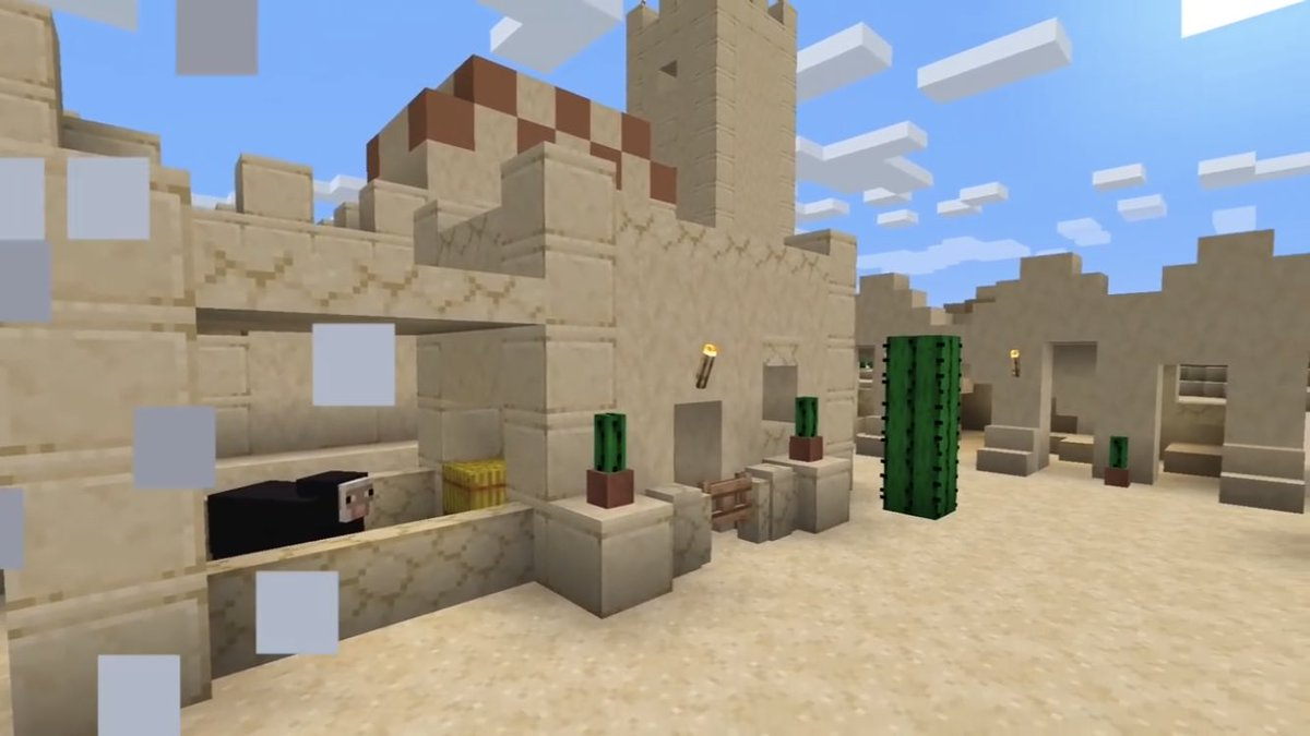 Mcpe Beta 1 10 On Twitter Sandstone Walls Are Also A New Feature