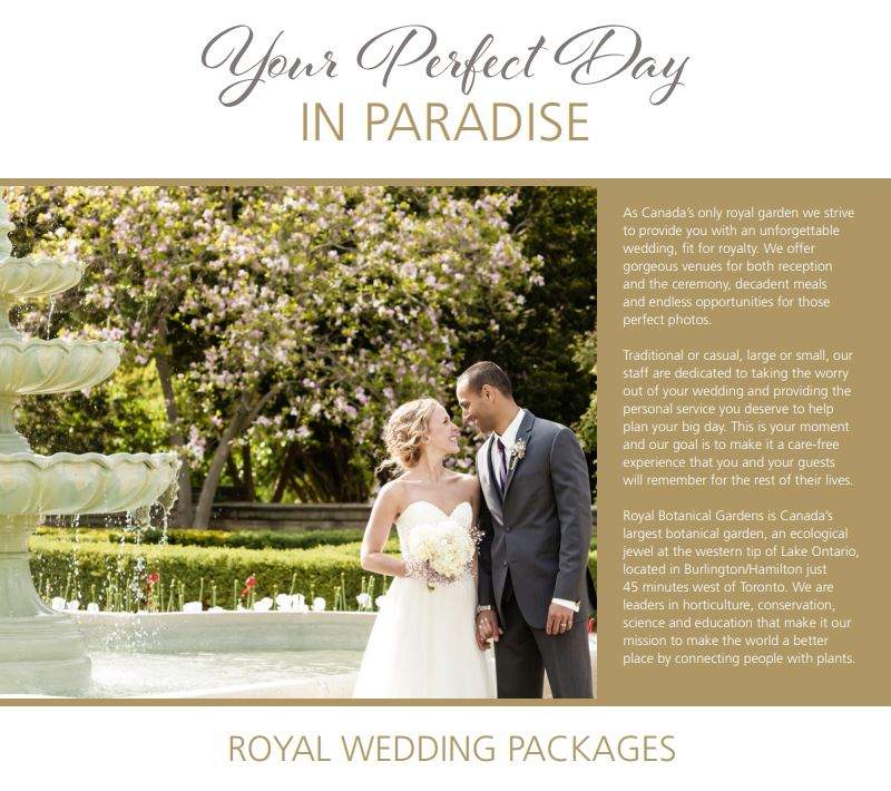 Royal Botanical Gardens On Twitter Are You Planning A Wedding In