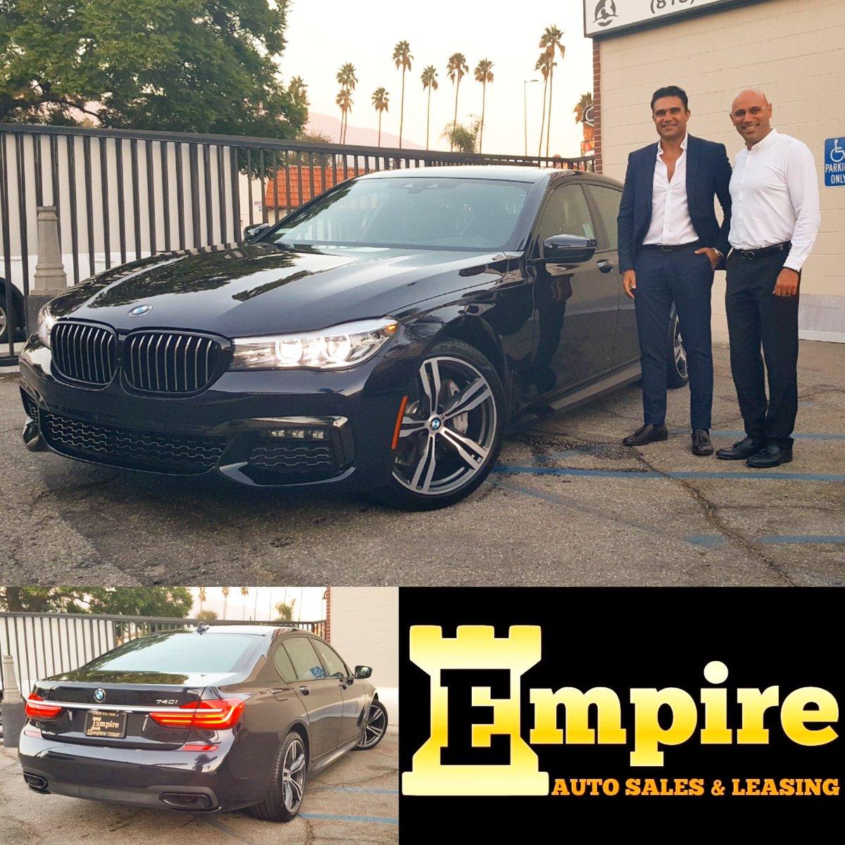 Empire Auto Sales >> Empire Auto Sales On Twitter 2019 Bmw 740i Darkblue Black
