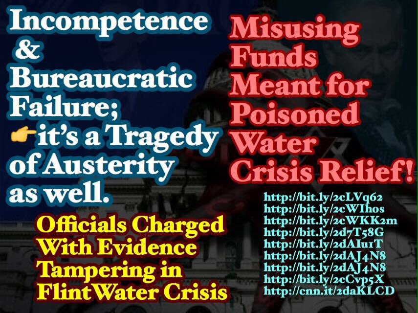 #HumanRights #UnitedNations #USA #DC #UNGA #europe #France #UK #Itsly #NewYork #News 💥Corruption deepening austerity of nations for delayed justice rules!   https://m.sputniknews.com/us/20160420/1038353745/officials-charged-flint-water-crisis.html… http://q13fox.com/2016/07/29/flint-water-crisis-new-criminal-charges-filed-against-6-state-employees/… http://bit.ly/2cCvp5X http://bit.ly/2dAJ4N8 http://cnn.it/2daKLCDhttp://bit.ly/2cLVq62http://bit.ly/2cWIhoshttp://bit.ly/2cWKK2mhttp://bit.ly/2d7T58Ghttp://bit.ly/2dAIu1Thttp://bit.ly/2dAJ4N8http://bit.ly/2cCvp5Xhttp://cnn.it/2daKLCD…