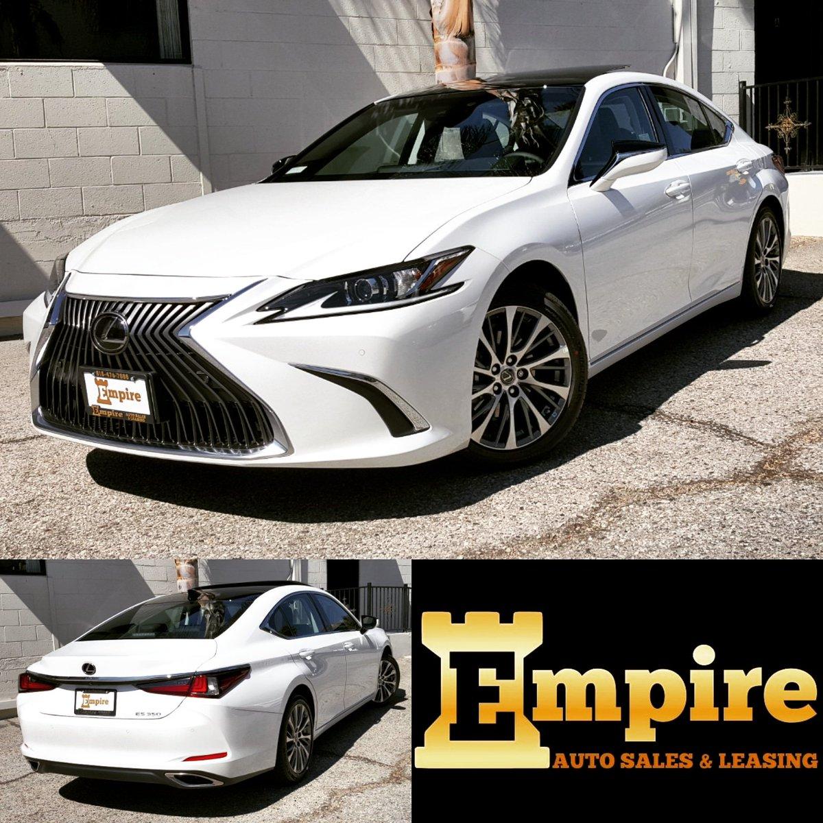 Empire Auto Sales >> Empire Auto Sales On Twitter 2019 Lexus Es350 White Black