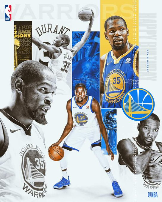 Happy Birthday to the back-to-back MVP, 2-time NBA Champion & 9-time All-Star Kevin Durant!