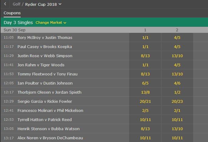Golf each way betting rules bet365 poker first 4 betting calculator vegas