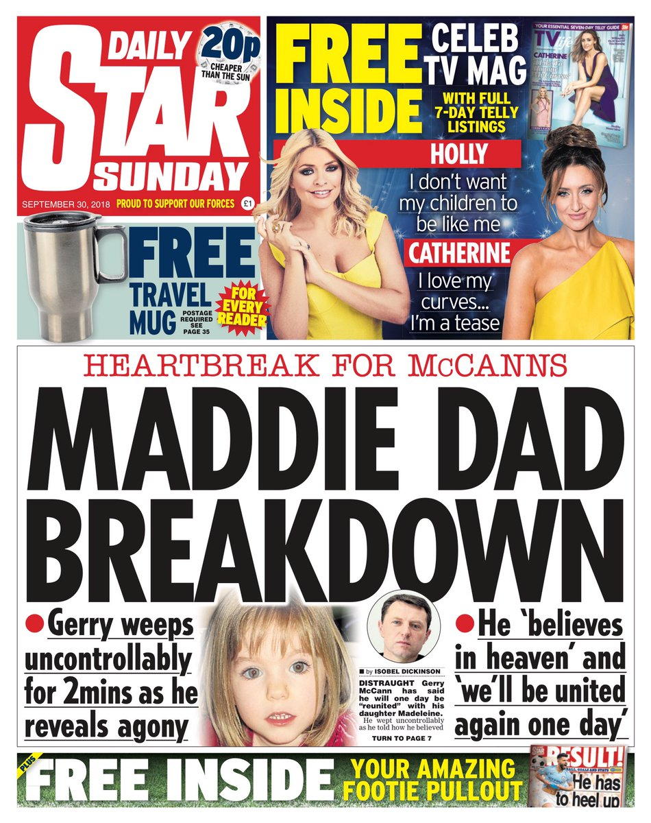 Tabloid Rags: Various inane stories - Page 36 DoSolgEWkAAbFow
