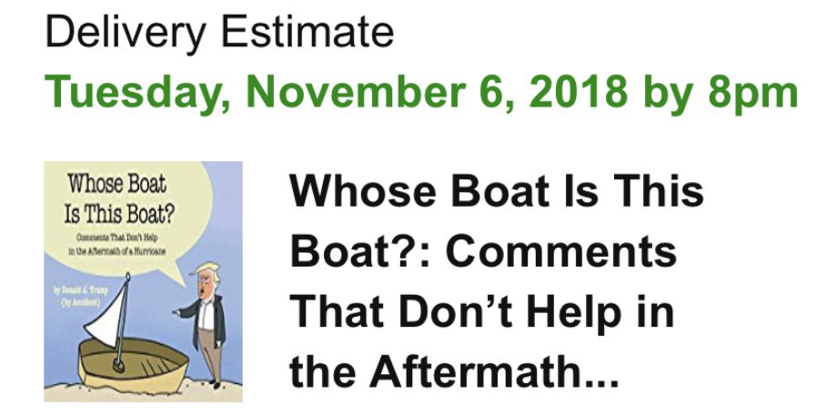 got my reading material for midterm elections ✅ #WhoseBoatIsThisBoat https://t.co/i3841Yu29S https://t.co/cC7vsj99ma