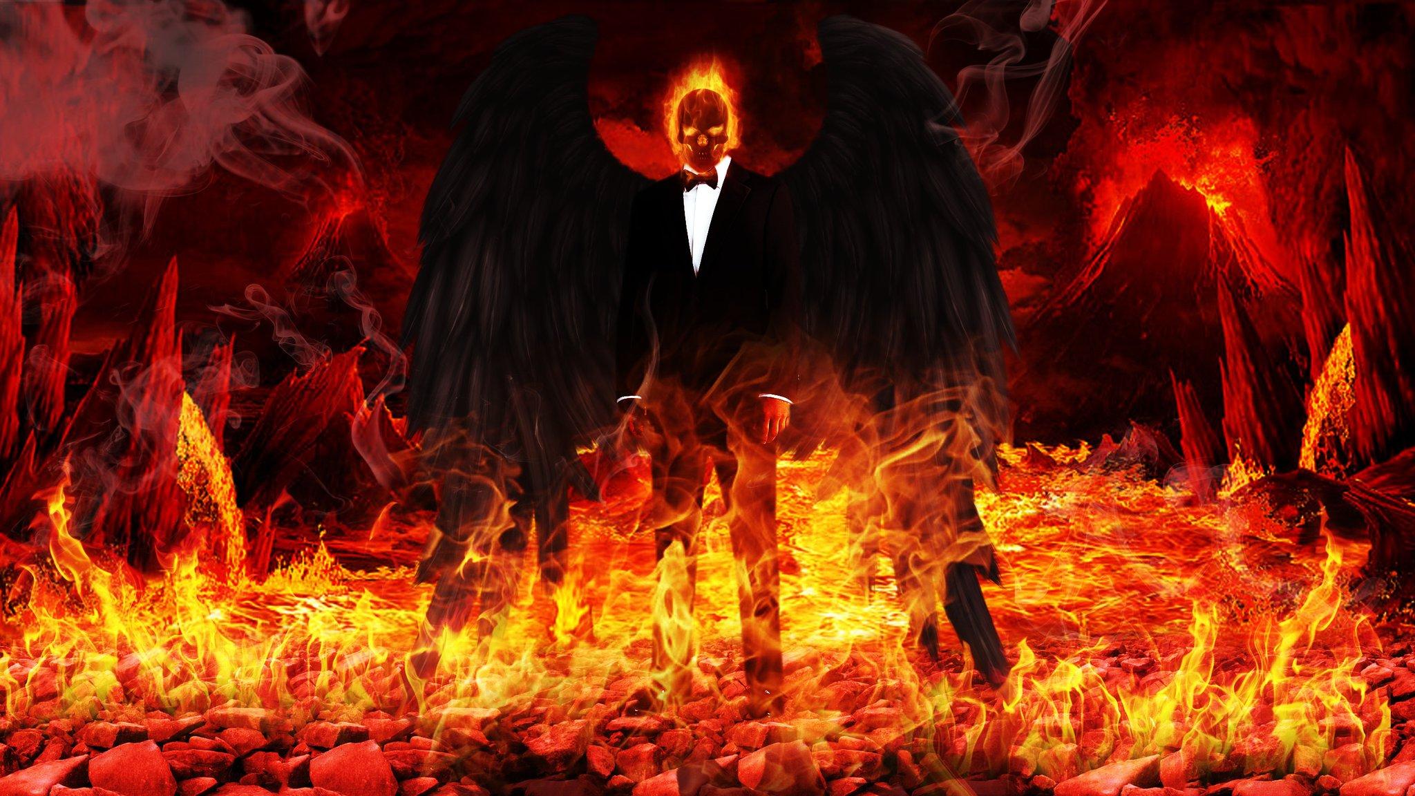 Дьявол и картинки