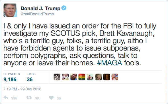 Ted Heller On Twitter Well This Ought To Do It Then Kavanaugh