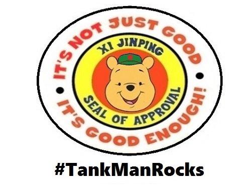 s xi jinping winnie the pooh #Tankmanrock