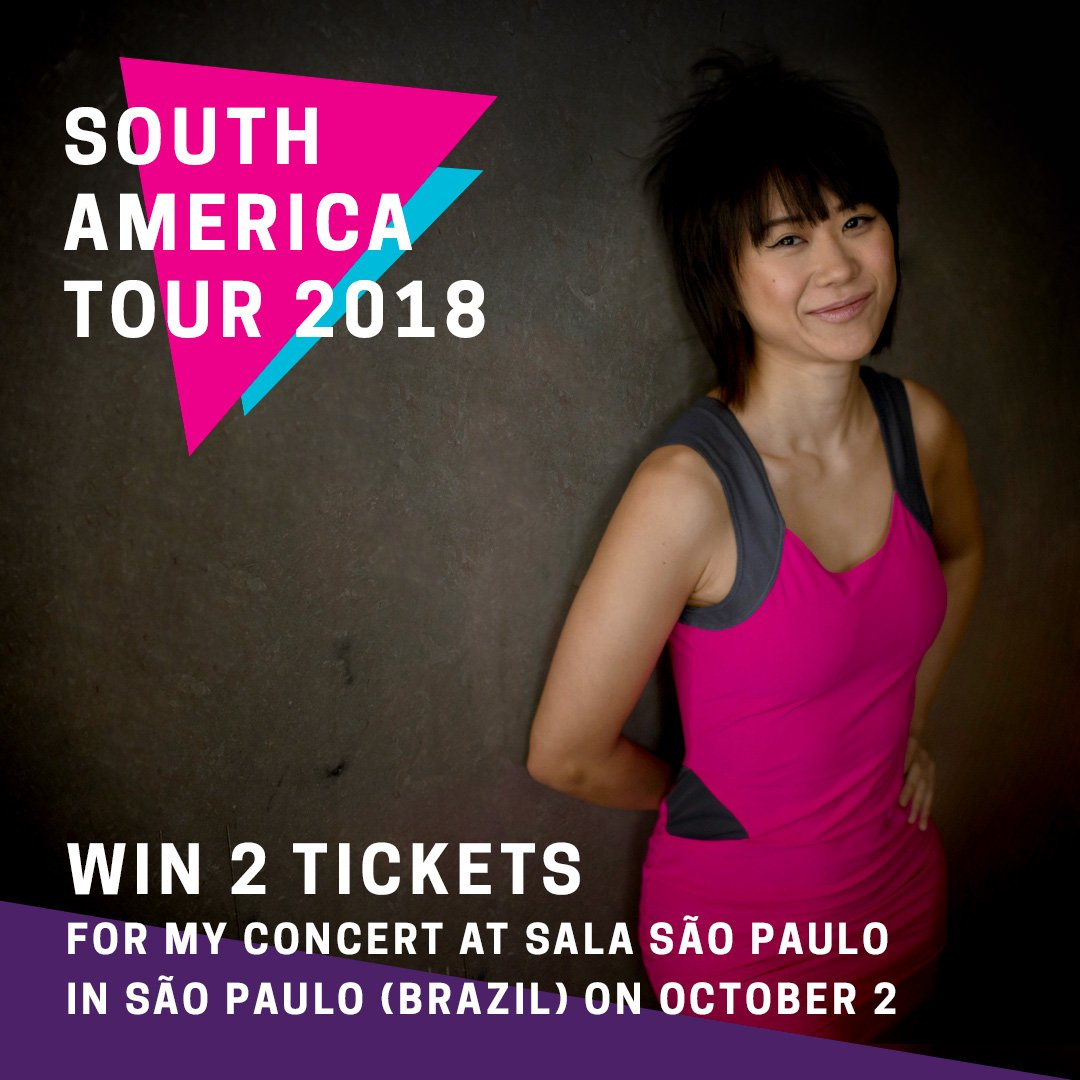 Reloaded twaddle – RT @YujaWang: ✨I heard that my concert in São Paulo on Oct 2 sold out wit...