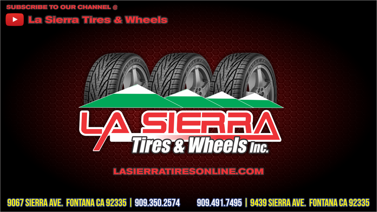 La Sierra Tires >> La Sierra Tires Wheels Inc On Twitter Subscribe To Our Channel
