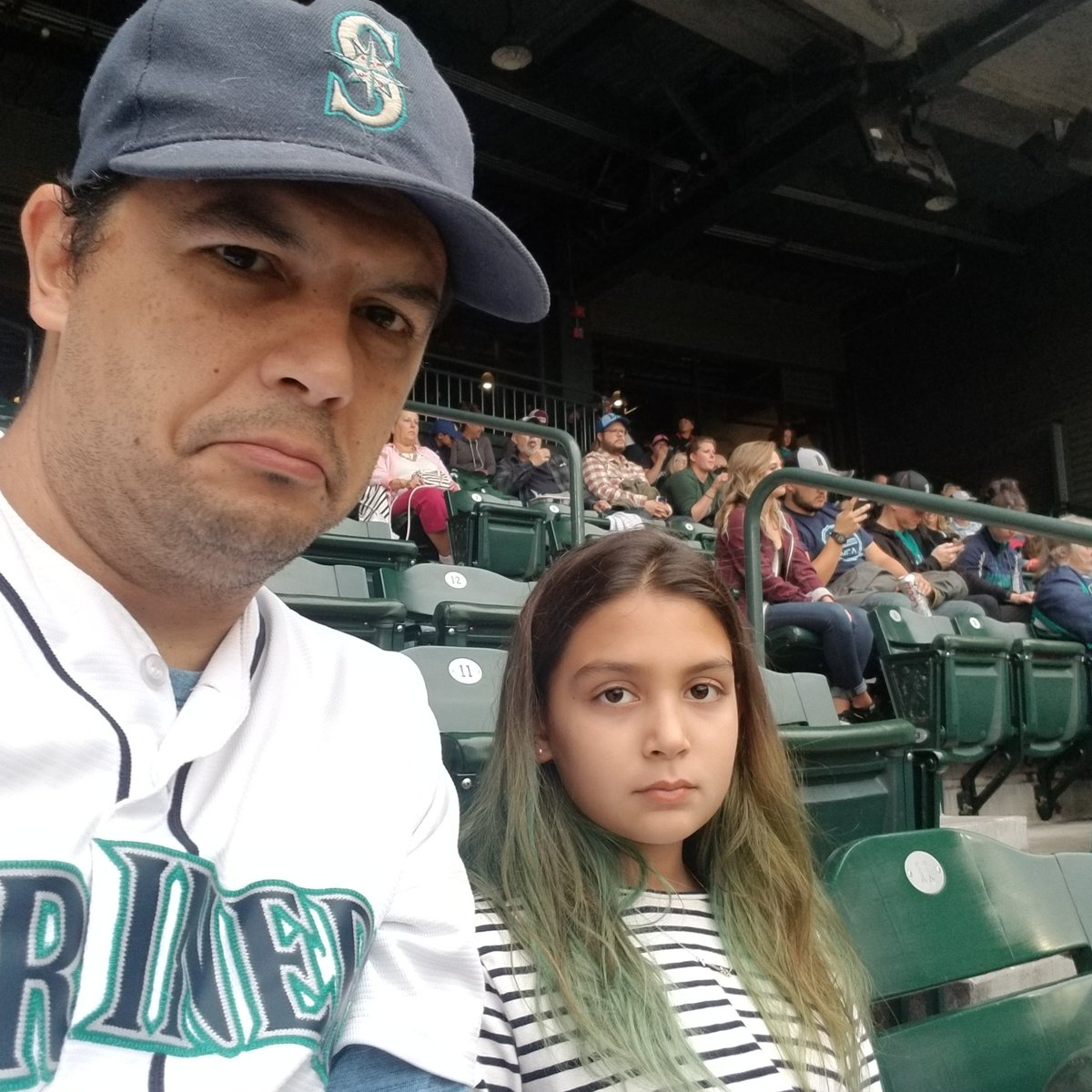 dea87ff83873  truetotheblue ·  SeavsTex  mlb  seattle  marinerspic.twitter.com nUgJH6VK4G  – at Safeco Field