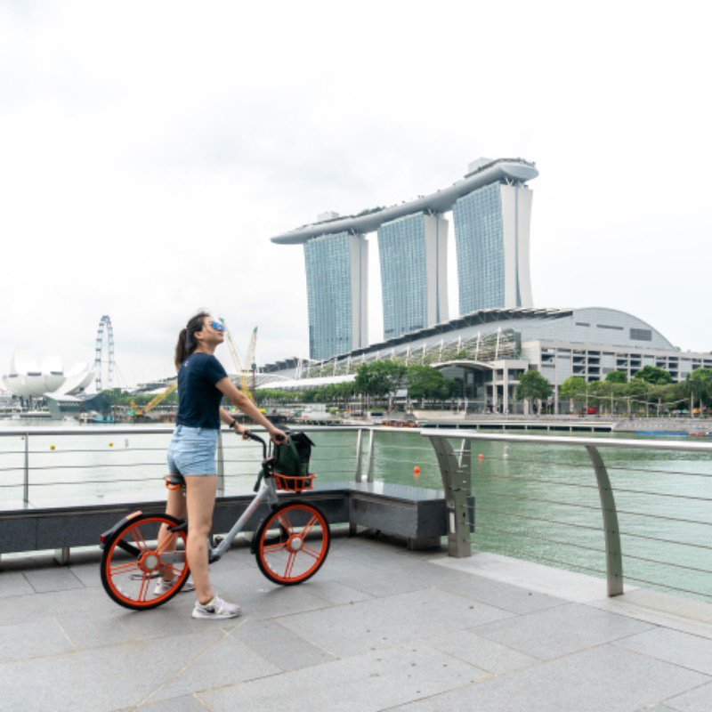 Sunday's the time for a fun ride! ☀️ Have a wheely good time cycling with Mobike this lovely Sunday morning! 🚴♂️🚴♂️🚴♂️ https://t.co/ktvieo9St4