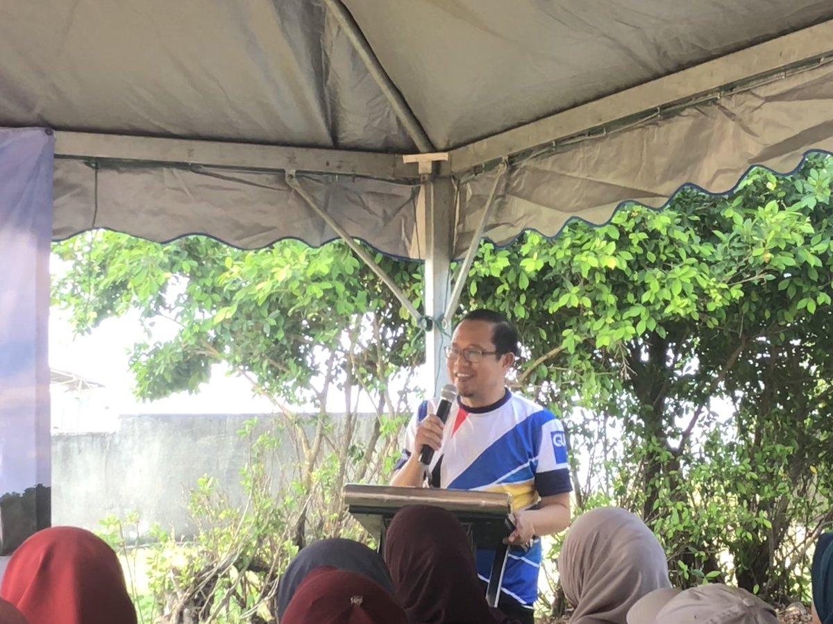 Ucapan Terima Kasih Dari Encik Megat Azman Selaku Wakil