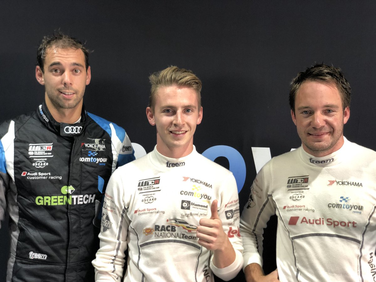 P6 @DupontDenis / P7 @fvervisch / P11 @NatBerthon / P16 @AurelienPanis at @ningbo for the qualifications of the @FIA_WTCR with @audisport and @ComtoyouRacing