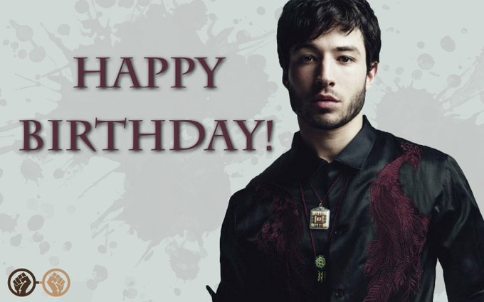 Happy birthday, Ezra Miller! Our favourite speedster turns 26 today. We hope he\s having an amazing day!