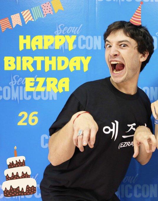 Happy Birthday Ezra Miller from Japan