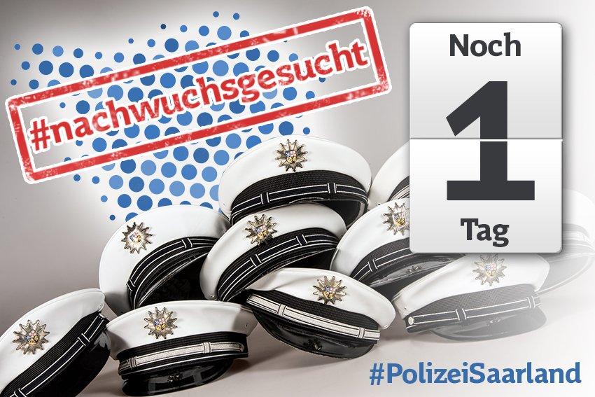 bewerbungen nur online ber httpwwwinteramtde unter der stellen id 457692 mglich polizeikarrierepictwittercom7vut2by1xb - Bewerbung Polizei Saarland