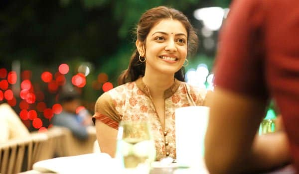 Kajal shows her BACK to