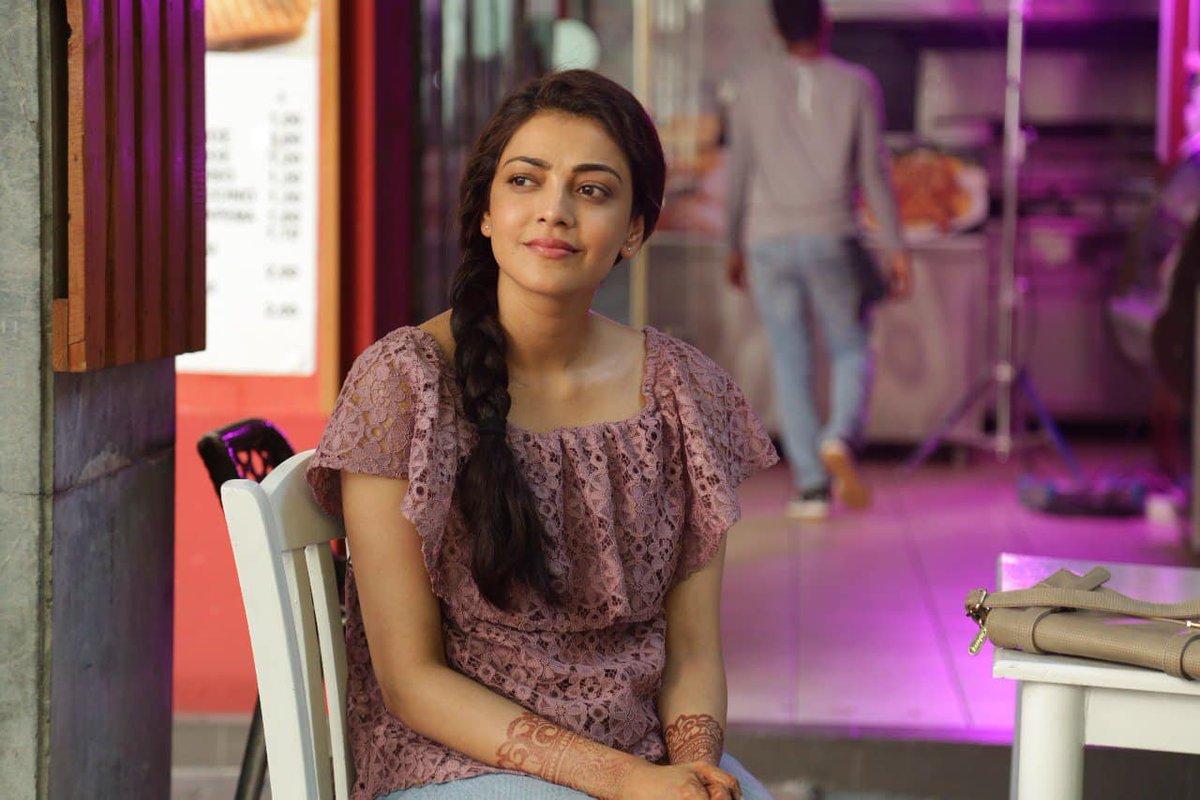 Kajal shows her BACK to