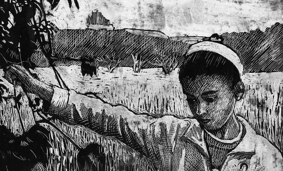 """la #mostra """"Simone Massi - Disegni per il film La strada dei Samouni"""" inaugura il 4 ottobre @Spazio1929.Esposte tavole originali realizzate per """"Samouni Road""""di Stefano Savona (in programma a #FFDUL18), vincitore L'oeil d'or  #Cannes18. info: https://goo.gl/NhQw1L  #animazioni"""