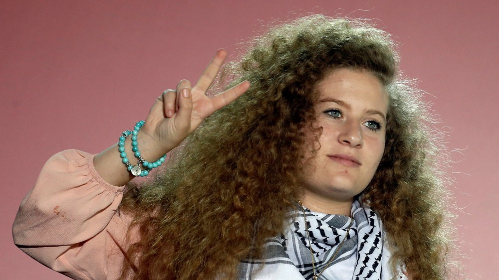Real Madrid football club honours Palestinian activist Ahed Tamimi https://t.co/SaGJeb3HPV