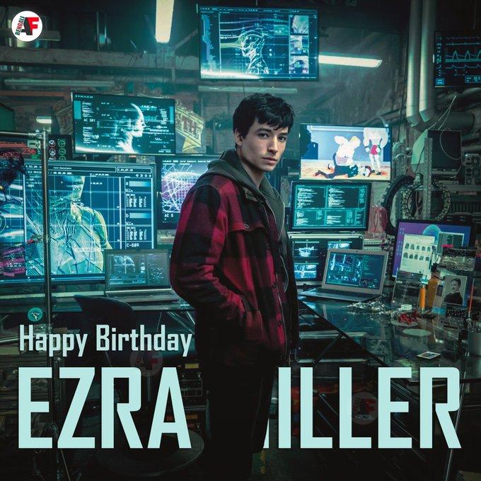 Happy Birthday Ezra Miller aka The Flash
