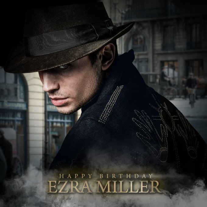 Happy 26th Birthday Ezra Miller!