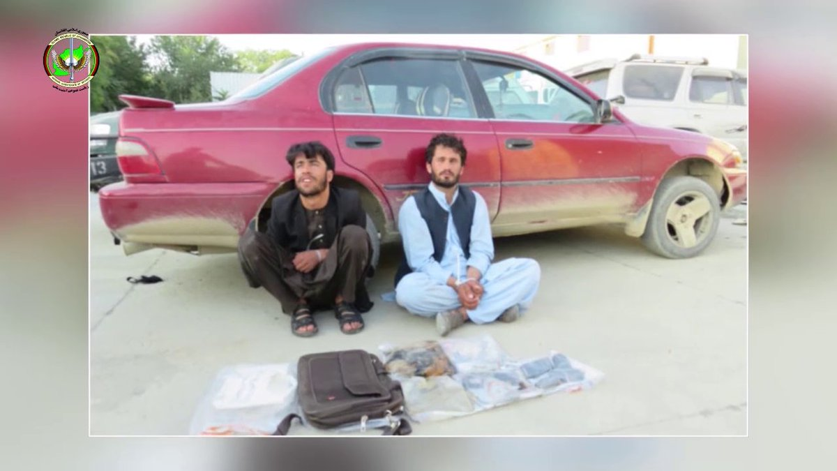 Kabul - NDS forces arrest two suicide bombing plotters from Kabul's PD3, the National Directorate of Security said in a statement. The NDS said the suspects had plotted five suicide attacks on Kabul.
