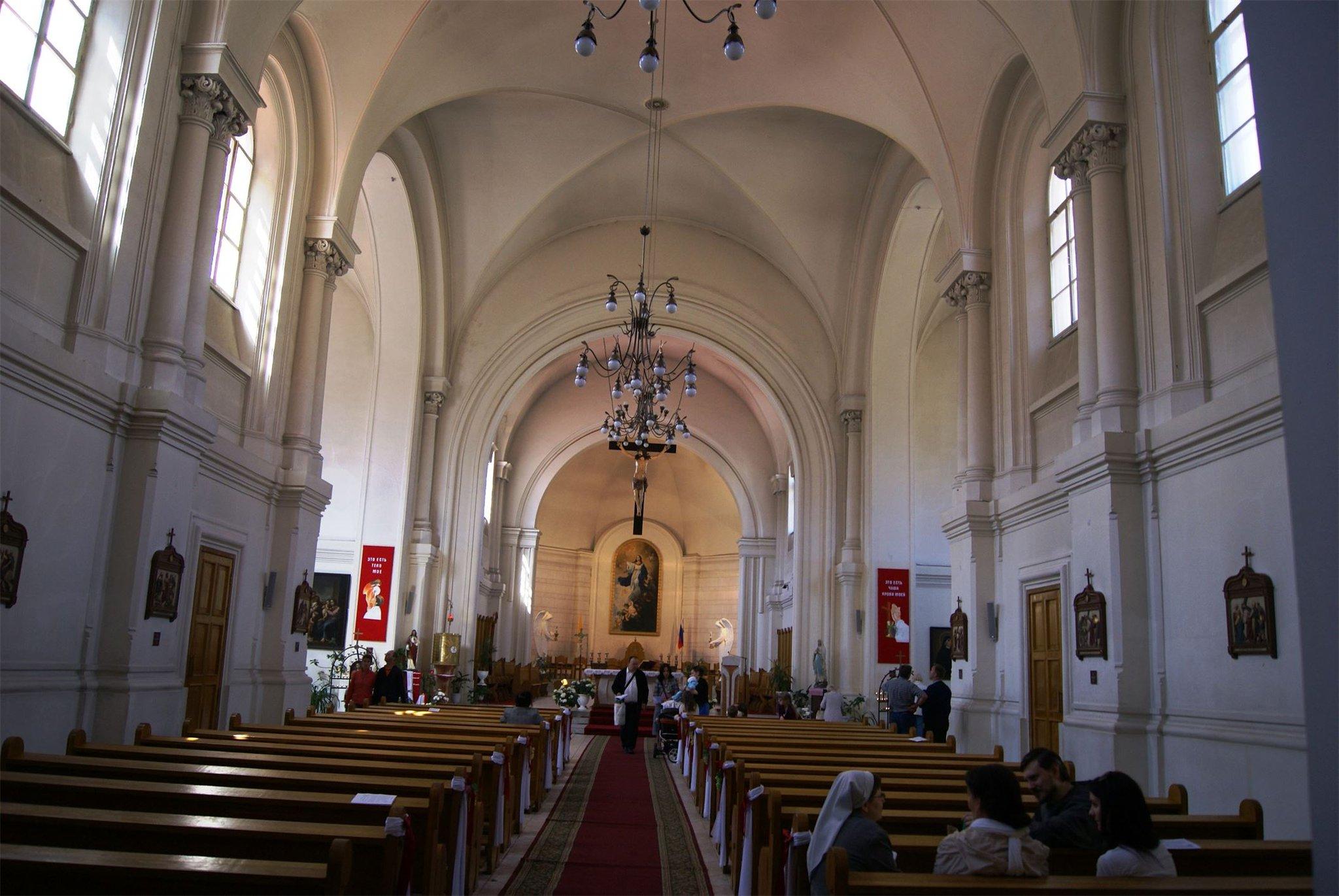 Католический успения девы петербурге обор в римско пресвятой
