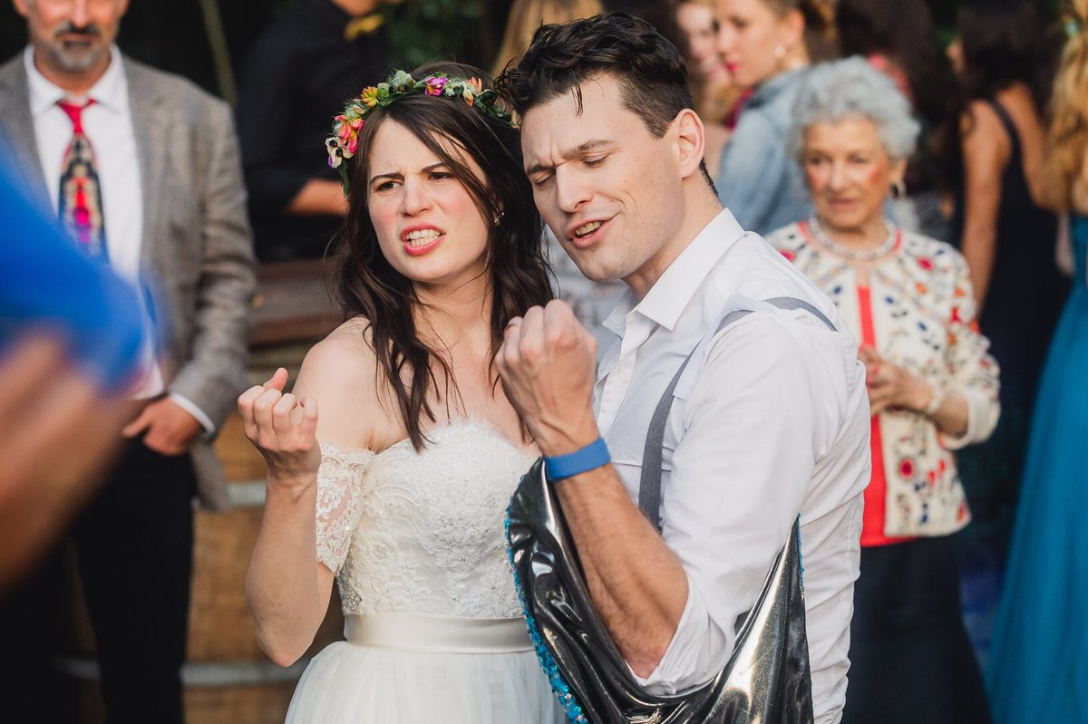 Three months married to @AmeliaRBlaire and we're loving every single moment! 💙💙💙