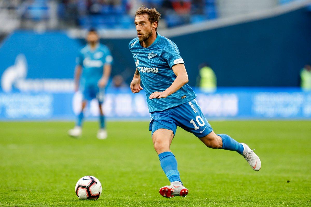 Image result for Claudio Marchisio Zenit St Petersburg