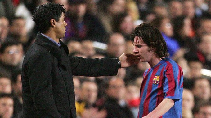 He won two LaLiga titles and gave Messi and Ronaldinho their Barça debuts.  Happy birthday, Frank Rijkaard!