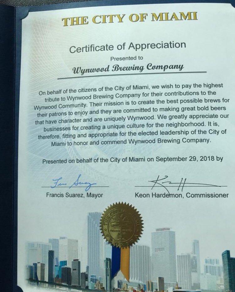 Wynwood Brewing Co Wynwoodbrewing Twitter