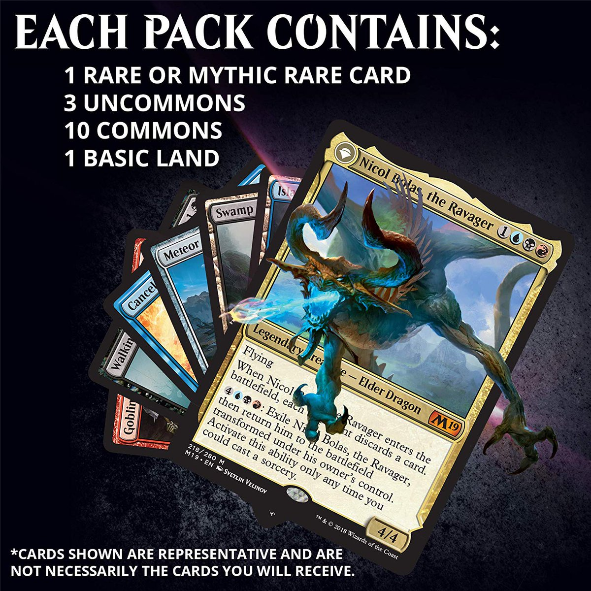 Magic The Gathering  Core 2019 booster packs MTG