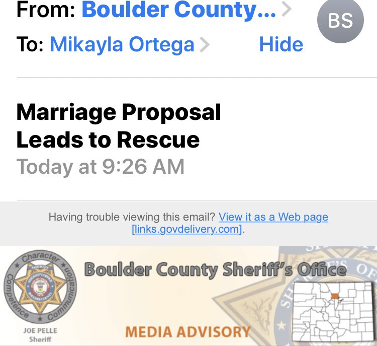 email for marriage proposal