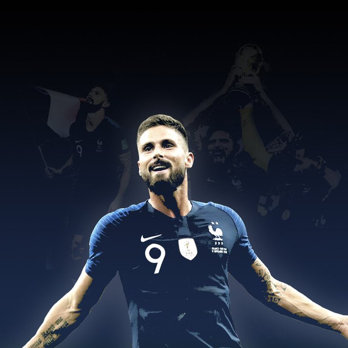 Happy Birthday to Chelsea\s World Cup winning striker Olivier Giroud.