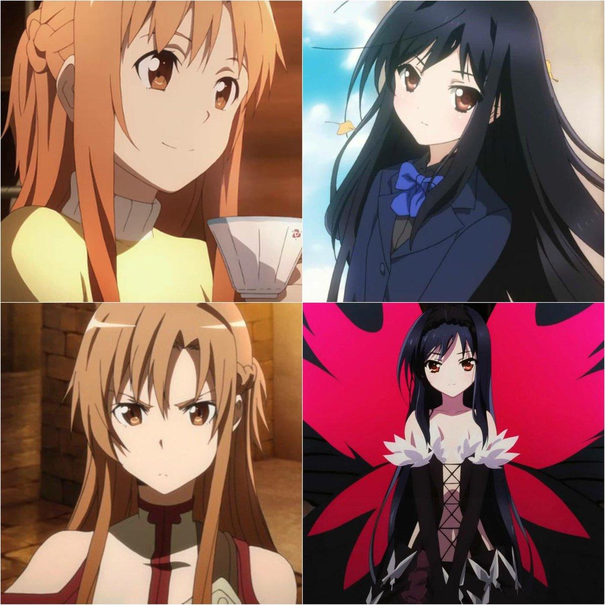 Crunchyroll On Twitter 9 30 Happy Birthday To Asuna Sword Art Online And Kuroyukihime Accel World