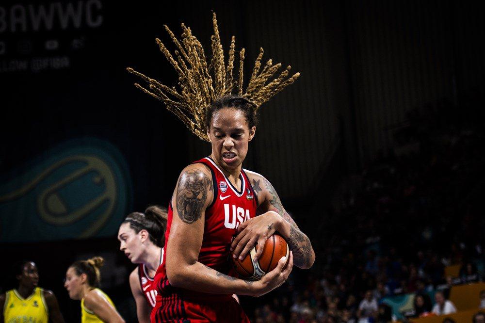 The @FIBA World Cup championship game MVP... @BrittneyGriner! ��  ��: FIBA https://t.co/CEXF3AnxOu