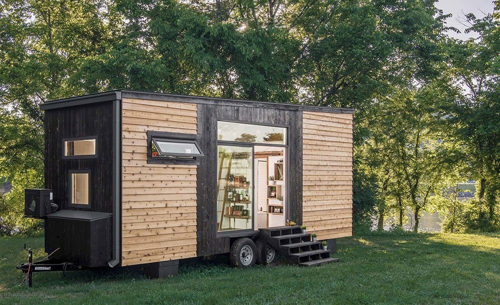 Off Grid World On Twitter This Beautiful Tiny House Features Lots