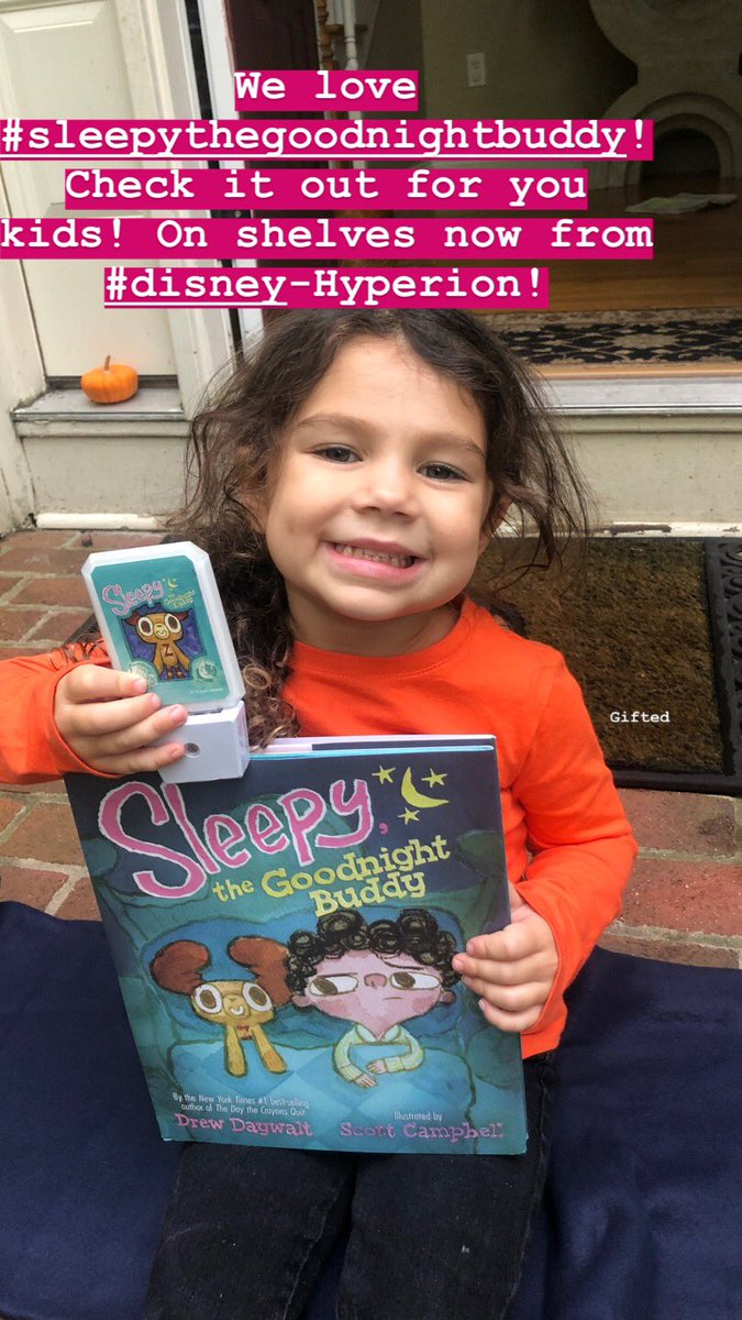 Love this girl and love this book! (Gifted) #sleepythegoodnightbuddy https://t.co/dy03YMP65q